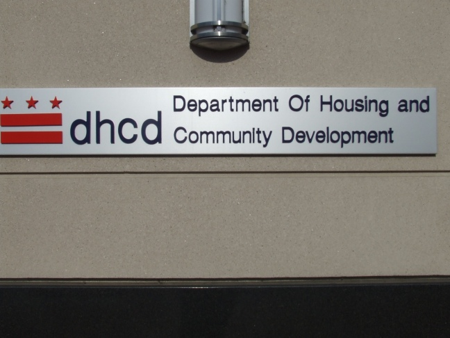 dept. of Housing.