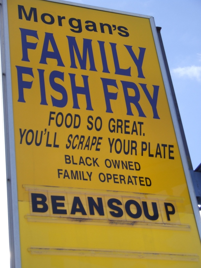 Black owned Fish spot