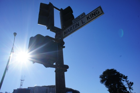 MLK Dr. in SF.