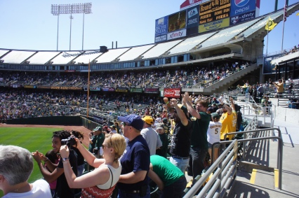 Walk. Off. Home. Run! A's Win!